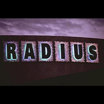 Radius nightclub sign