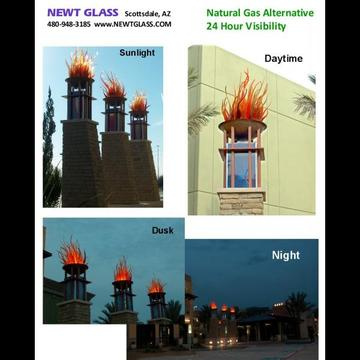 Green alternative to gas flames-Click to enlarge